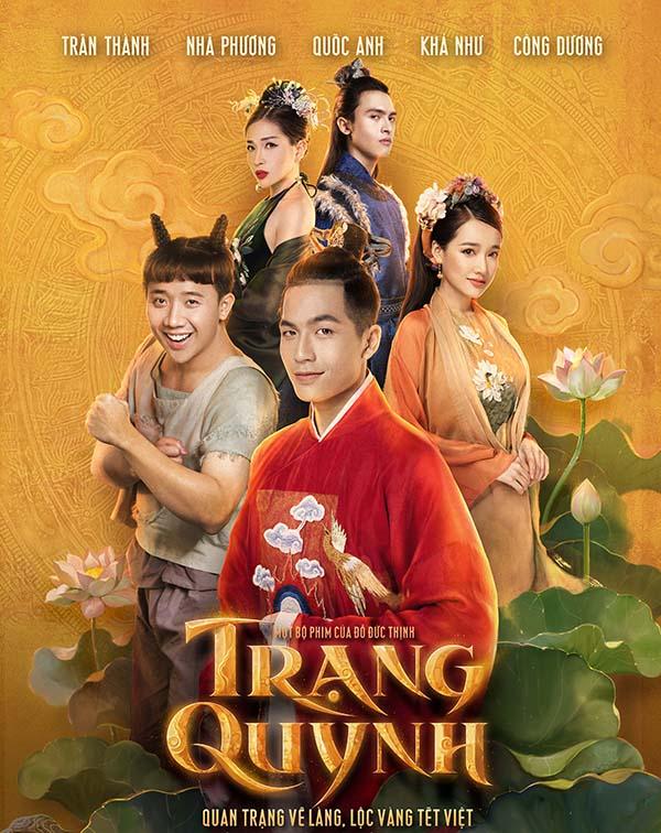 Poster chính thức của phim Trạng Quỳnh.