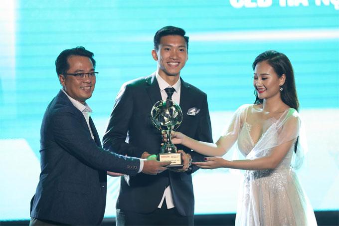 Đoàn Văn Hậu giành giải cầu thủ trẻ hay nhất năm - 3