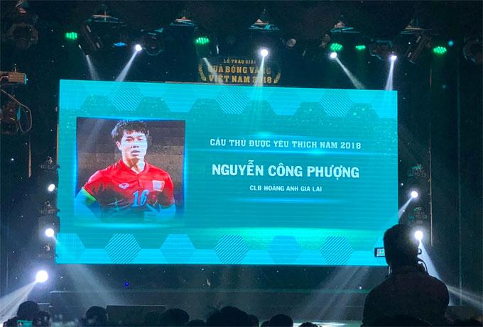 Đoàn Văn Hậu giành giải cầu thủ trẻ hay nhất năm - 2