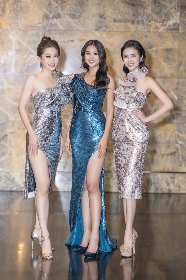 Top 3 Hoa hậu Việt Nam 2018 hội ngộ cùng nhau.
