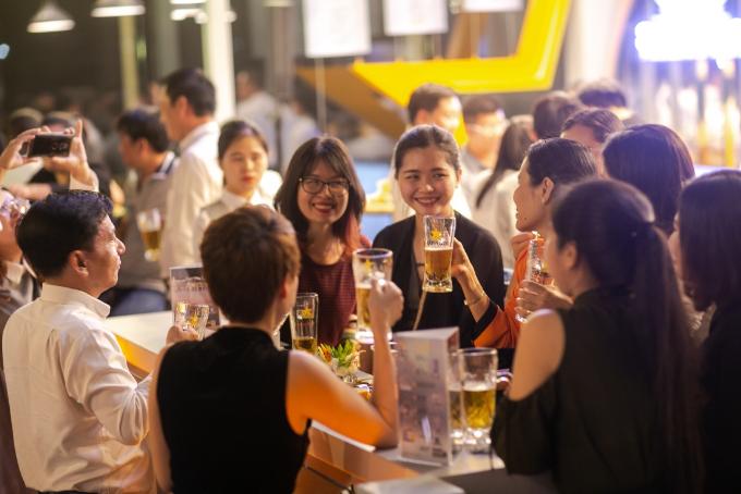 Thêm một điểm thưởng thức bia ngon tại Sài Gòn - ảnh 2