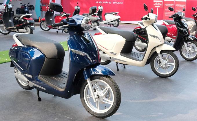 Xe máy điện và ôtô Vinfast tăng giá từ đầu 2019