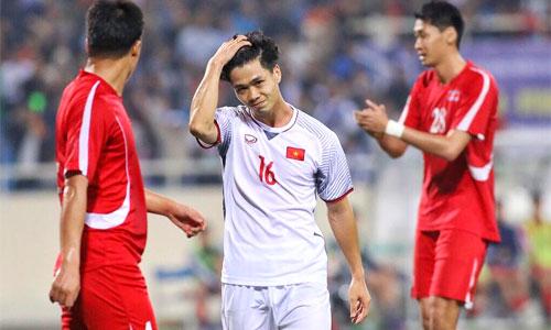 Việt Nam đánh rơi chiến thắng trước Triều Tiên