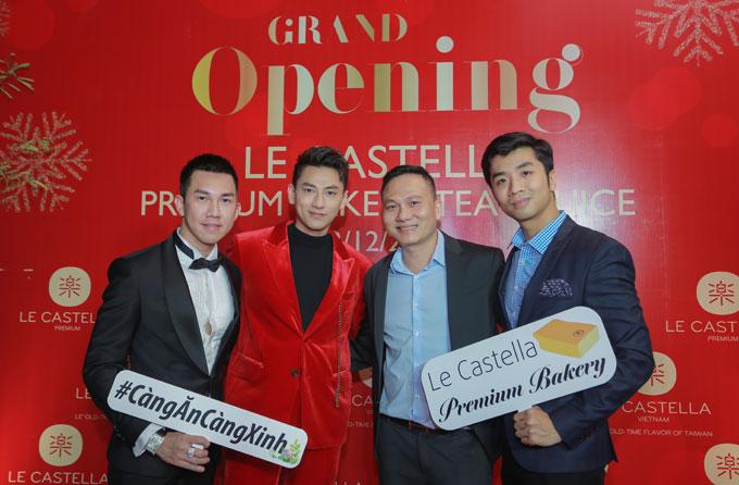 Isaac dự khai trương cửa hàng Le Castella Premium đầu tiên - ảnh 1