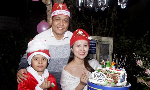 Thanh Thúy tổ chức sinh nhật cho chồng ở Đà Lạt