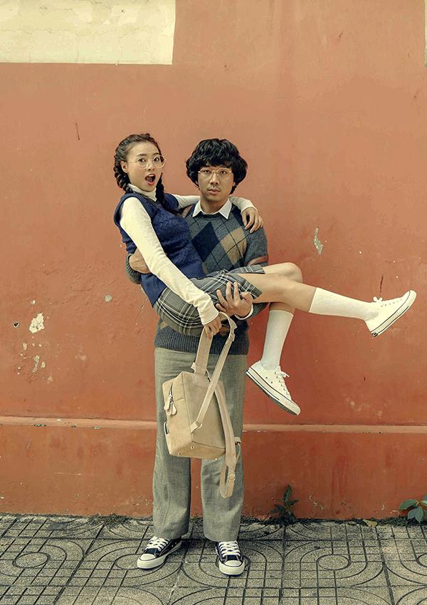 Cặp đôi có nhiều màn tung hứng hài hước trong phim.