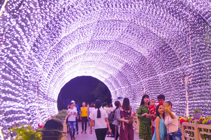Đón Giáng sinh và năm mới 2019 với chuỗi sự kiện hấp dẫn tại Suối Tiên - ảnh 2
