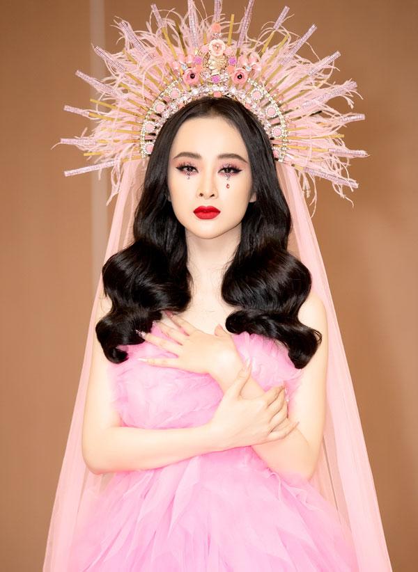 Angela Phương Trinh mất 7 tiếng trang điểm để dự show Đỗ Mạnh Cường - 1