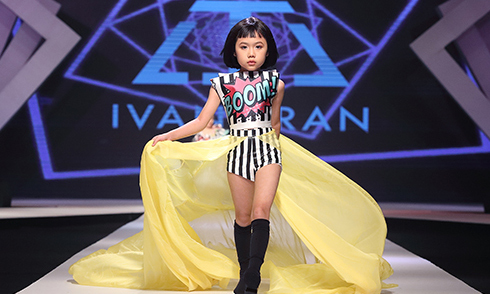 3 màn trình diễn catwalk đặc sắc của Asian Kids Fashion Show