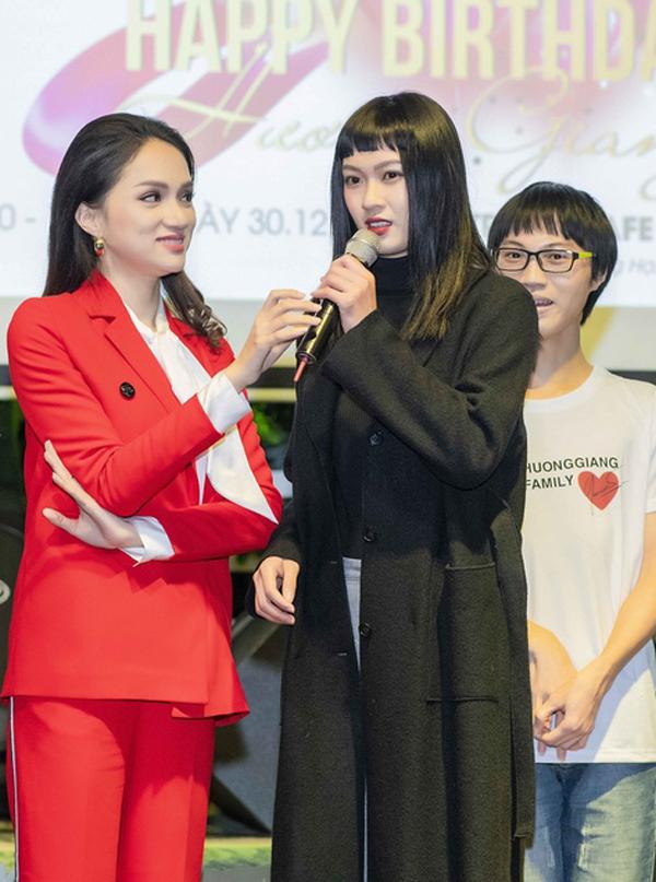 Hiện tại Hương Giang tập trung cho vai trò tổ chức cuộc thi The Tiffany Vietnam để tìm kiếm gương mặt đại diện cho Việt Nam tại Hoa hậu Chuyển giới 2019. Cô cũng ấp ủkế hoạch cho sản phẩm âm nhạc mới.