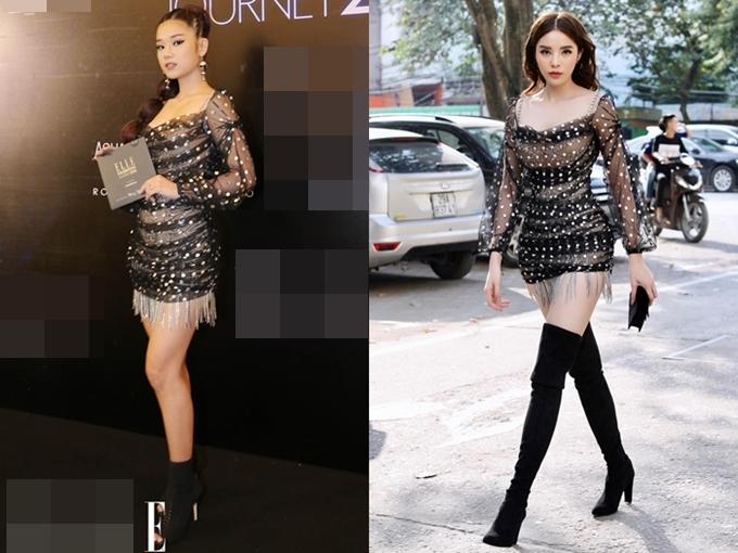 Sao đụng váy tháng 12: Đặng Thu Thảo đẹp mong manh không kém đàn em Tiểu Vy - 2