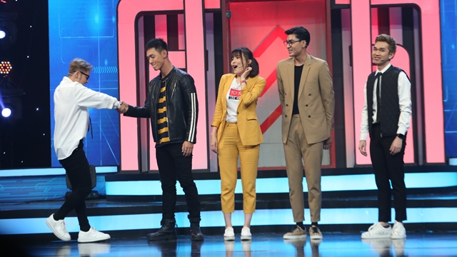 Song Luân, Cao Thái Hà hội ngộ trên sân khấu Bộ 3 siêu đẳng - 2