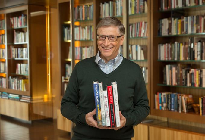 Tỷ phú Bill Gates, đồng sáng lập Tập đoàn công nghệ Microsoft. Ảnh: Gatesnote.