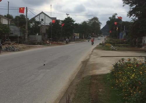 Đoạn đường nơi xảy ra vụ tai nạn. Ảnh: CTV.