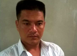 Tài xế Phạm Thành Hiếu - nghi can gây tai nạn cho 21 xe máy, làm 4 người chết.
