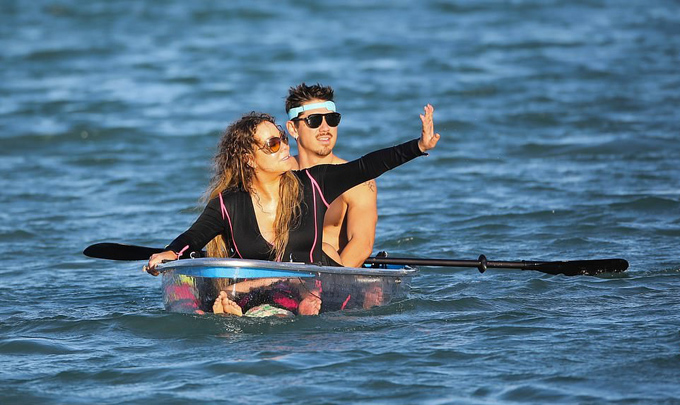 Trải qua hai cuộc hôn nhân đổ vỡ và một lần bị hủy hôn, Mariah giờ chỉ muốn hẹn hò và tận hưởng những ngày tháng vui vẻ bên gia đình.