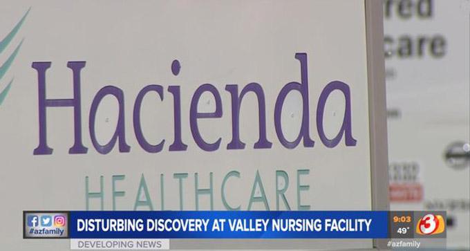 Trung tâm y tế Hacienda hiện bị cảnh sát Phoenix, bang Arizona, điều tra. Ảnh: Azfamily.