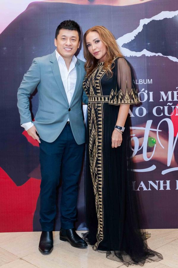 Ca sĩ Lam Trường chúc mừng người chị thân thiết.