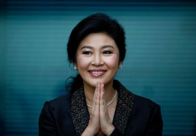 Yingluck Shinawatra - nữ thủ tướng đầu tiên của Thái Lan. Ảnh:EPA.