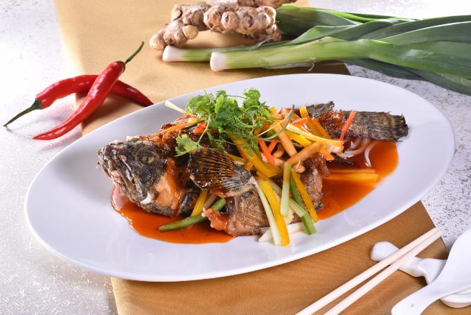 Giảm 50% cho món cá mú khi đặt bàn trên website Tung Garden - ảnh 1