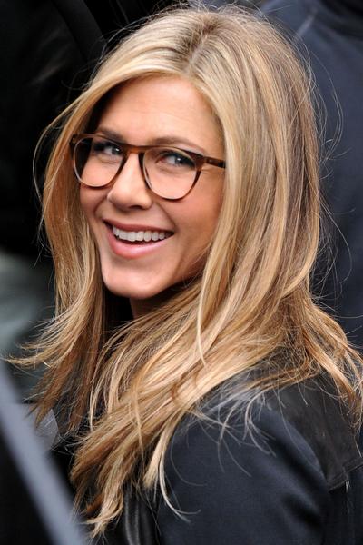 Diễn viên Jennifer Aniston nổi tiếng với các kiểu đầu. Ảnh: WireImage.