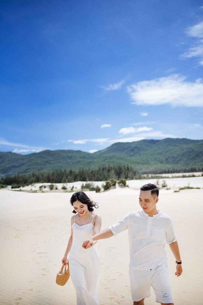 Ảnh cưới ở 'thiên đường Maldives Việt Nam' đẹp tựa tranh vẽ