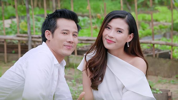 Huy yêu luật sư Minh Anh do diễn viên Thuý Diễm thể hiện.