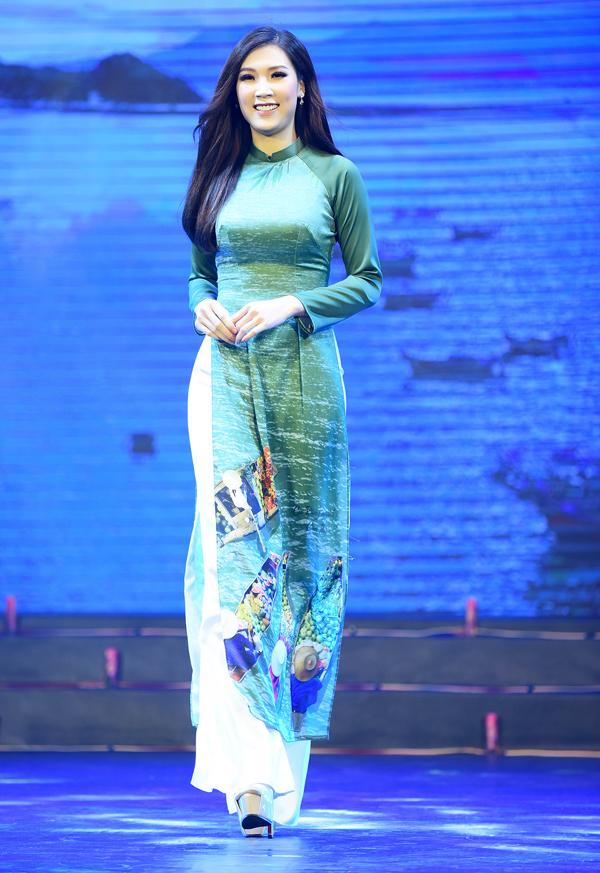 Bạn gái tin đồn Phan Văn Đức diễn áo dài cho Ngọc Hân - 5