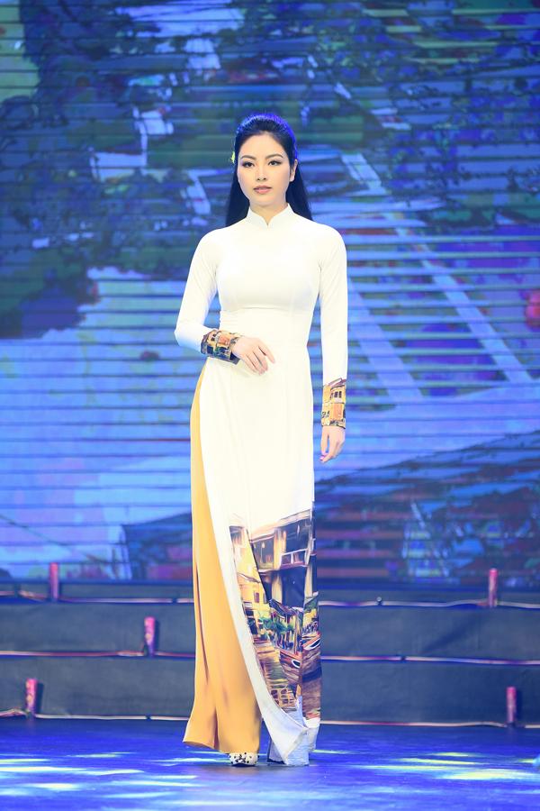 Bạn gái tin đồn Phan Văn Đức diễn áo dài cho Ngọc Hân - 6