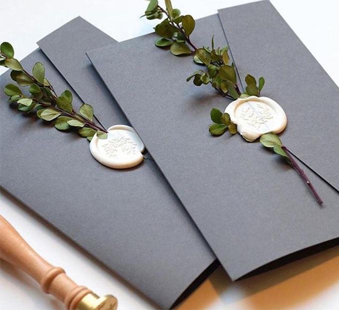 Xu hướng thiệp cưới nổi bật năm 2019