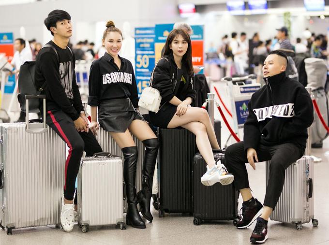 Sau khi dự Milan Fashion Week 2019 Ngọc Trinh sẽ cùng những người bạn tham quan, mua sắm ở Italy trước khi về nước.