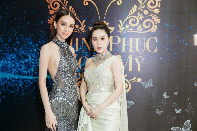 Thiên thần chuyển giới diện áo dài khoe sắc bên Hương Giang - 3