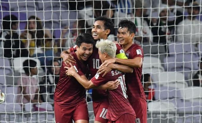 Chanathip và Dangda góp công lớn vào màn trình diễn của Thái Lan ở sân chơi châu lục.