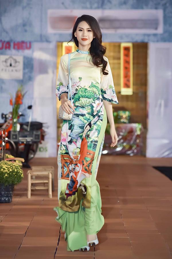 Áo dài hoa cho xuân Kỷ Hợi - 9