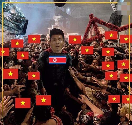 Fan Việt cảm ơn cầu thủ Pak Kwang-Ryong - người giúp Triều Tiên có một bàn thắng. Nếu Triều Tiên không ghi được bàn thắng nào Lebanon sẽ ngang nhiên vào vòng trong và tuyển Việt Nam bị loại.
