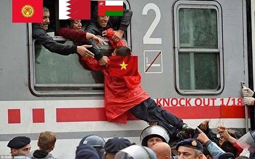 Đội tuyển Việt Nam đã giành được tấm vé cuối cùng để lên chuyến tàu vào vòng sau vô cùng kịch tính.