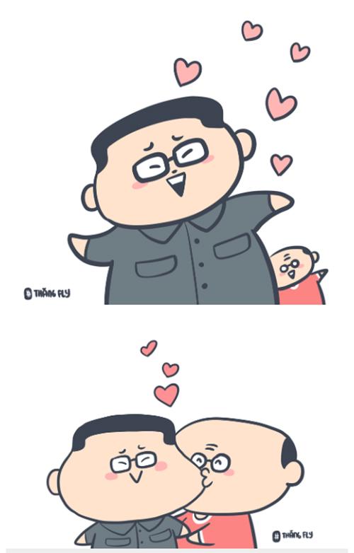 HLV Park Hang-seo thể hiện tình cảm với Triều Tiên vì giúp Việt Nam lọt vào vòng sau.