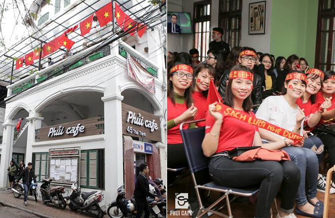 Địa chỉ cuối tuần: gợi ý quán xem đá bóng cổ vũ cho đội Việt Nam trong vòng 1/8