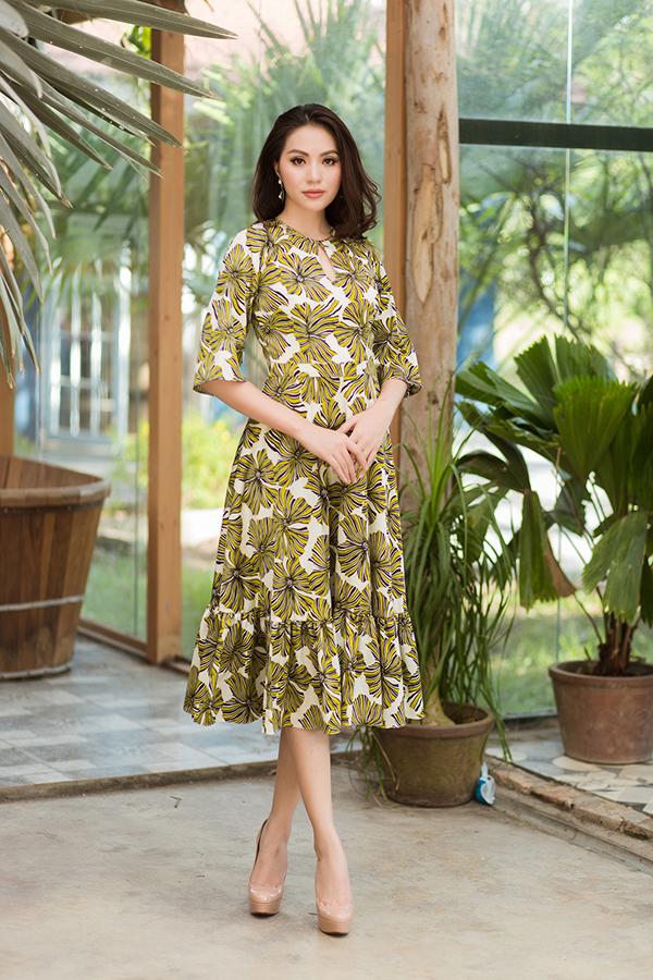 Bộ ảnh được thực hiện với sự hỗ trợ của nhiếp ảnh Huy Nguyễn, trang điểm Trọng Huấn, người mẫu Bảo Ngọc.