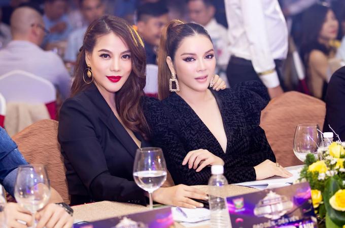 Lý Nhã Kỳ, Trương Ngọc Ánh dự tiệc tất niên của Hoa hậu Bùi Thị Hà - 1
