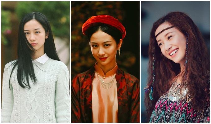 Từ trái sang: Jun Vũ trong các phim Tháng năm rực rỡ, Người bất tử, 12 chòm sao: Vẽ đường cho yêu chạy.