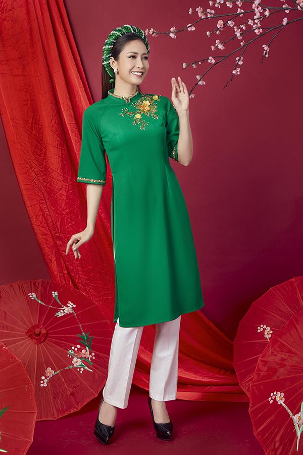 Áo dài cách tân cho quý cô Sài Gòn - 7