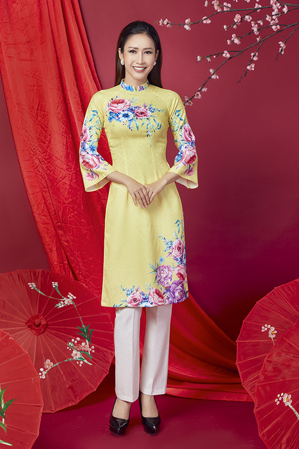 Áo dài cách tân cho quý cô Sài Gòn - 8
