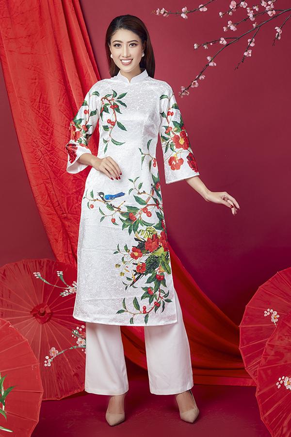 Áo dài cách tân cho quý cô Sài Gòn - 12