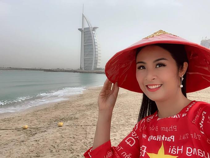 Hoa hậu Ngọc Hân được tỏ tình từ đầu đến cuối chợ vàng Dubai - 5