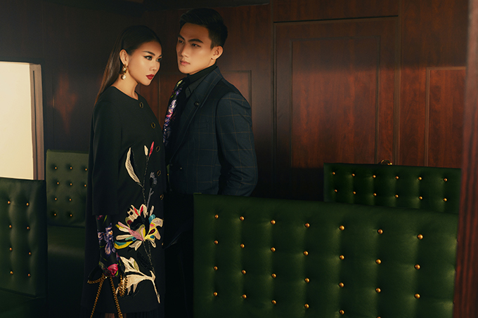 Bộ ảnh được thực hiện với sự hỗ trợ của nhiếp ảnh Milor Trần, concept & stylist Kye Nguyễn, trang điểmThái Vũ Tài Ngân, làm tócDương Hữu Nghĩa.