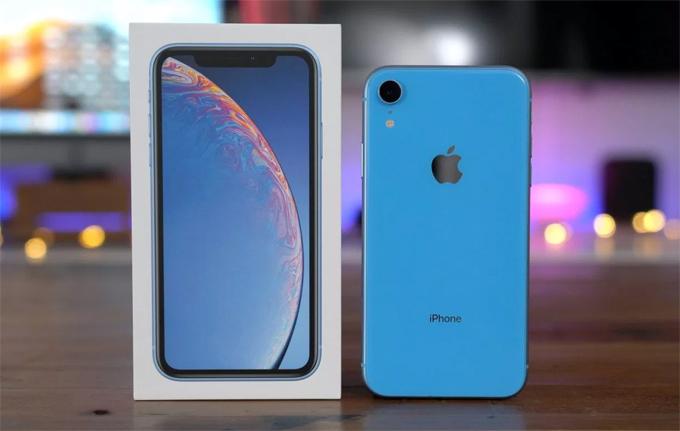 iPhone XR bán chạy tại Mỹ