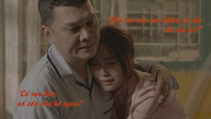 Cảnh phim xúc động nhất của Cua lại vợ bầu.