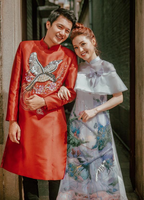 Vợ chồng diễn viên Quang Tuấn.