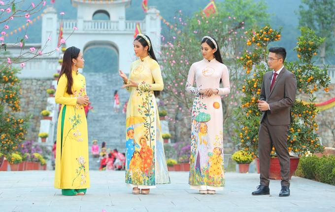Ngọc Hân, Tiểu Vy ghi hình chương trình ngày 30 Tết - 7